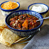 Slow Cooker Sweet Potato Chili with Hatch Chiles, Corn, and Beef