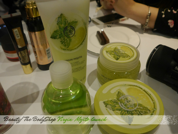 BEAUTY | BODYSHOP VIRGIN MOJITO EVENT #happyskin