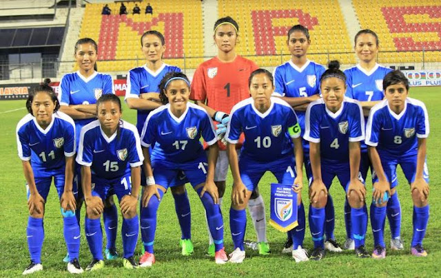 Indian Women's Team beat Malaysia 2-0