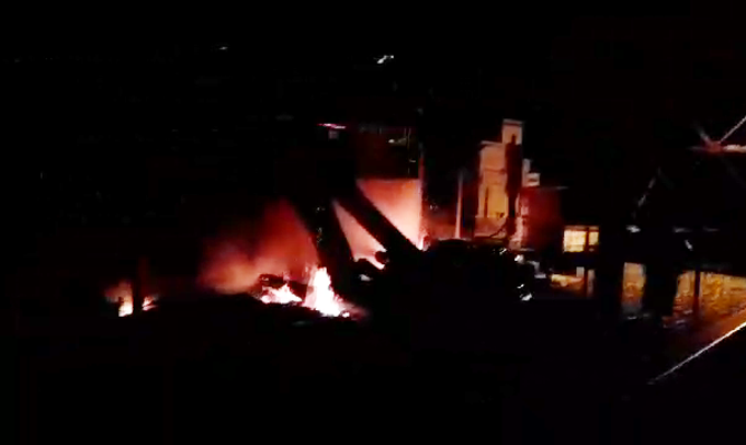 Pabrik Tahu di Bone Ludes Dilalap Api
