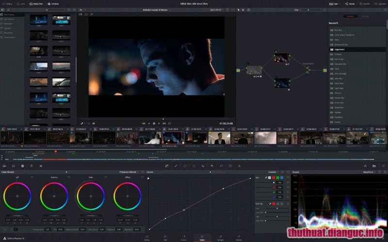 Download Davinci Resolve Studio 15.3.0.8 Full Crack, Phần mềm chỉnh sửa màu sắc video mạnh mẽ, Davinci Resolve Studio, Davinci Resolve Studio free download, Davinci Resolve Studio full key,