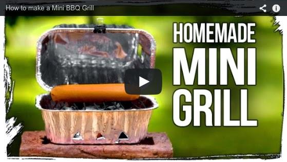 Home Garden Diy Homemade Mini Grill