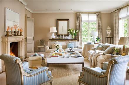 salón clásico-moderno