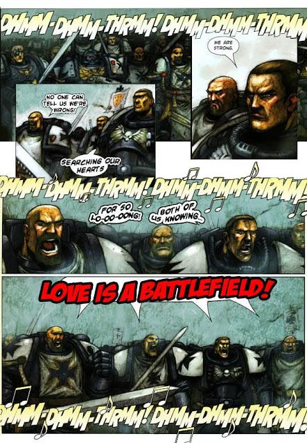 Meme de humor sobre Warhammer 40.000