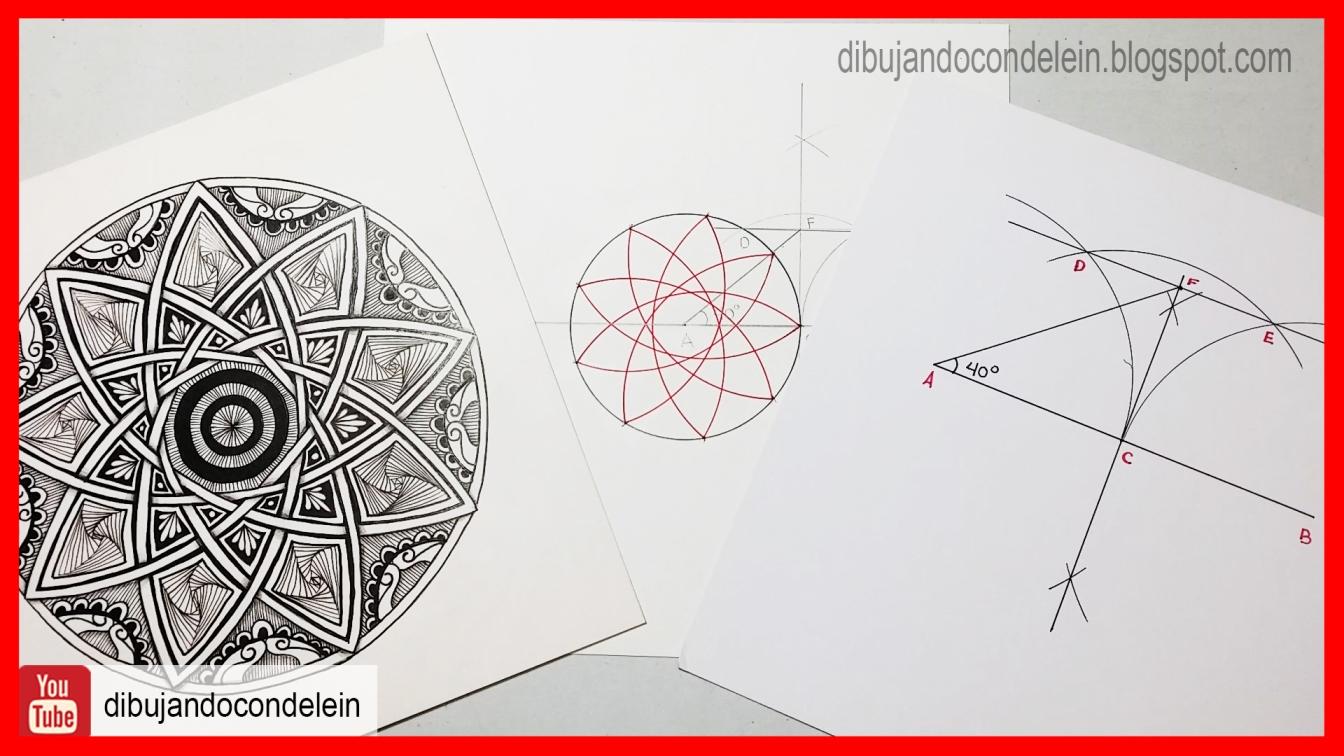 Dibujando Con Delein Como Hacer Una Libreta De Dibujo: Dibujando Con Delein: Geometría Básica Para Dibujante
