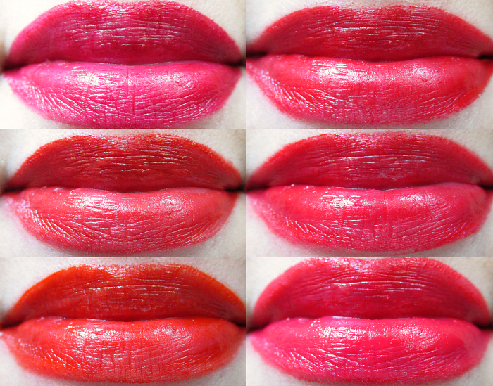 Review, Swatches & Tragebilder: L´Oréal Color Riche La Palette Lips - Red