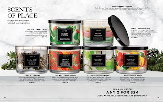 avon catalog candle collection