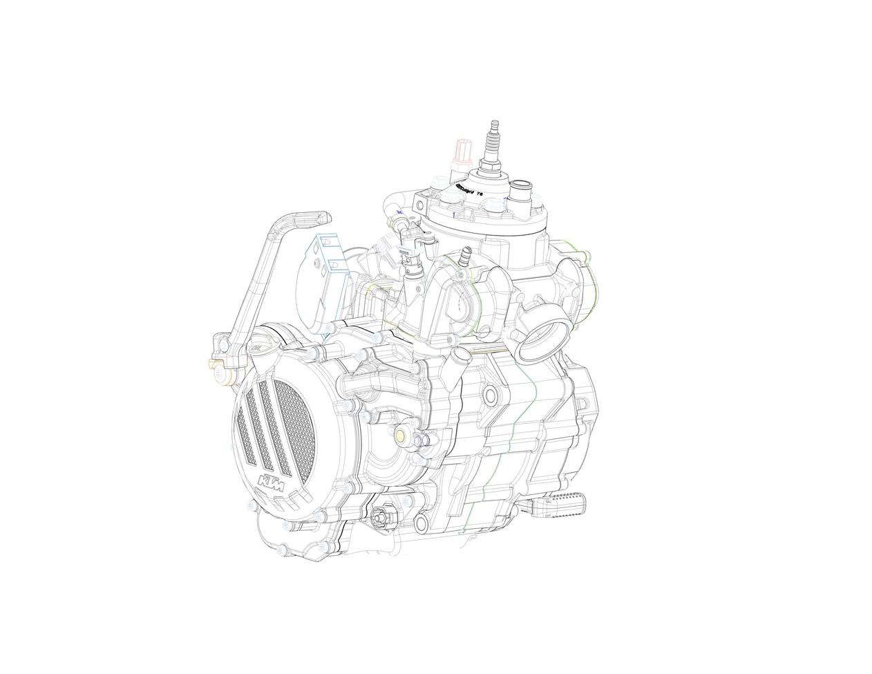 ENEMOTOS: KTM terá motor 2 tempos com injeção eletrônica