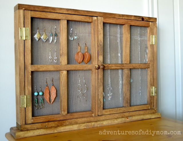DIY Jewelry Organizer - How to Build your own