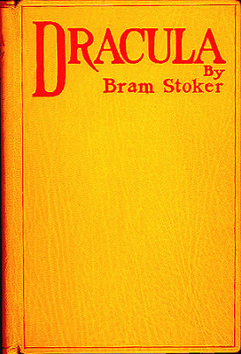 front cover of Dracula, original edition