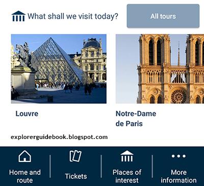 travel app paris