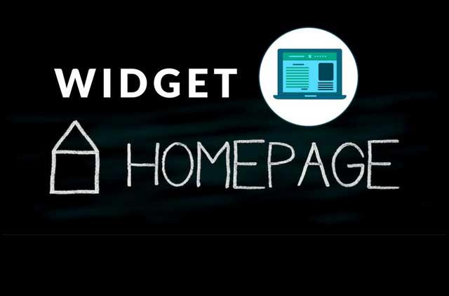 Cara Menampilkan Widget Hanya di Homepage atau Halaman Posting