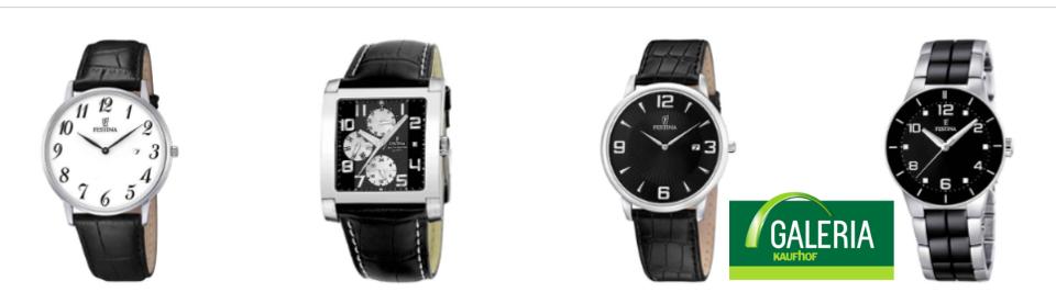 Festina Uhren auf Rechnung kaufen bei Galeria Kaufhof