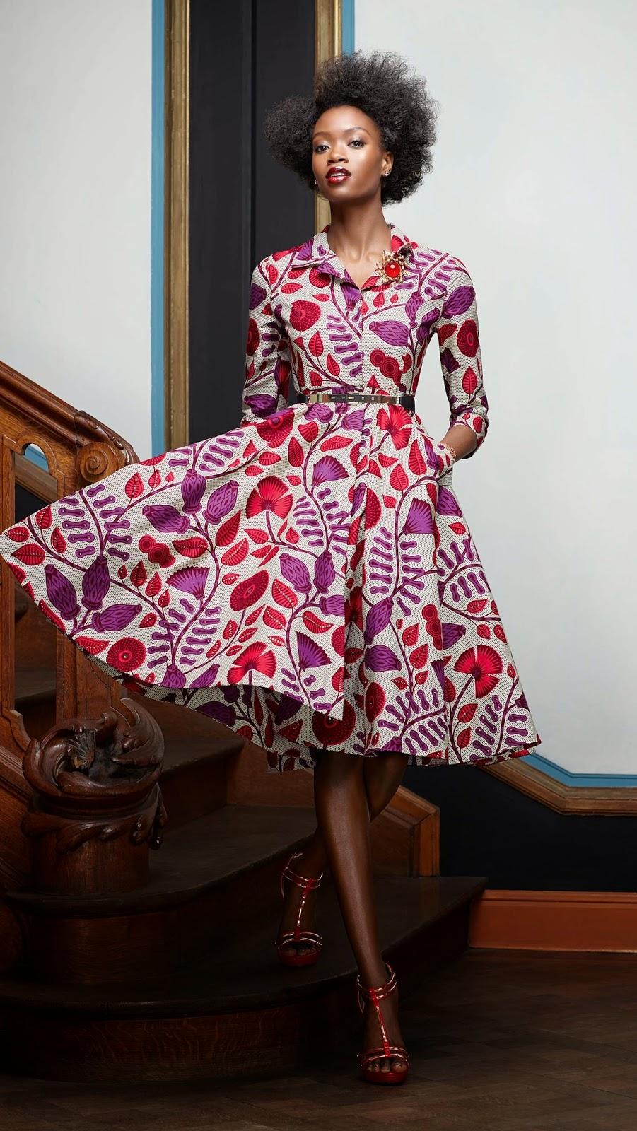 African Prints Inspiration: Vlisco Splendeur Collection ...