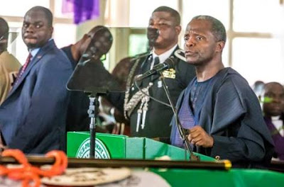 PDP Replies Osinbajo: You're A Product Of Corruption