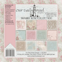 Our Daily Bread designs Shabby Rose Paper Collection