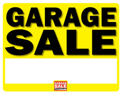 free garage sale sign templates selo l ink co