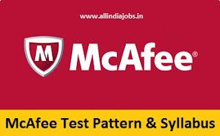 McAfee Test Pattern