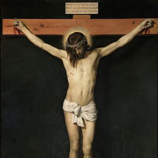ベラスケス、キリストの磔、プラド美術館