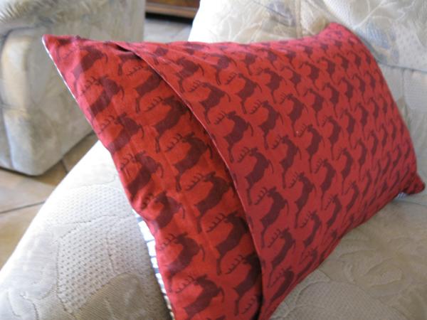 unser adventskalender 15 dezember kissenh lle quilt as you go. Black Bedroom Furniture Sets. Home Design Ideas