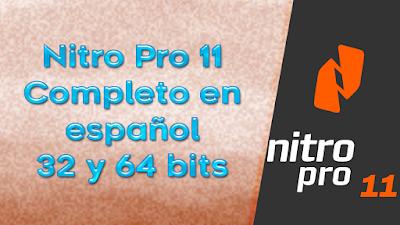 Descargar Nitro Pro 11 Full en español completo