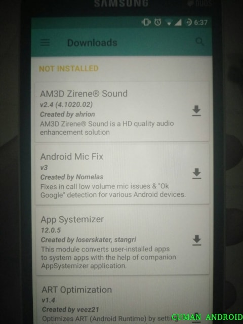 magisk manager di hp android