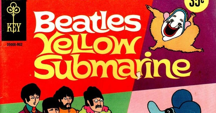 comic book of the week yellow submarine gold key. Black Bedroom Furniture Sets. Home Design Ideas
