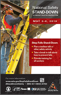 National Safety Stand-Down 2016