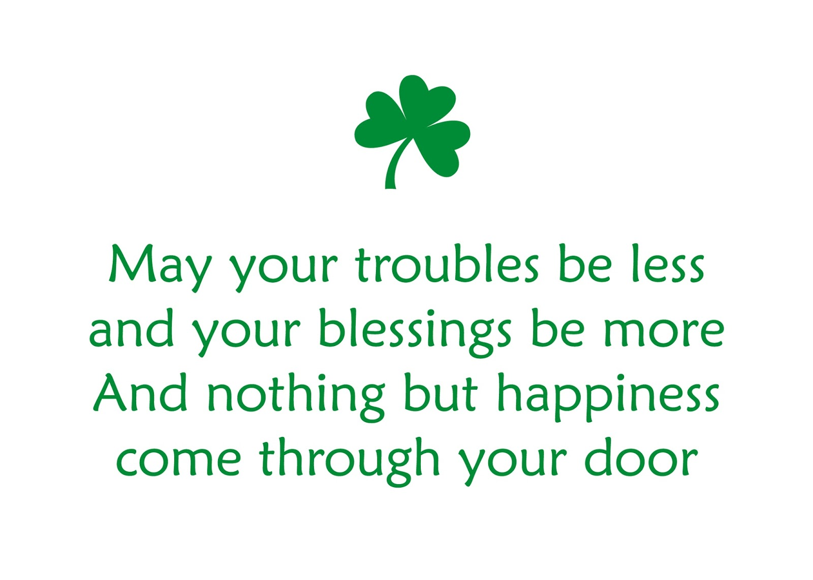 best wishes for st patrick day