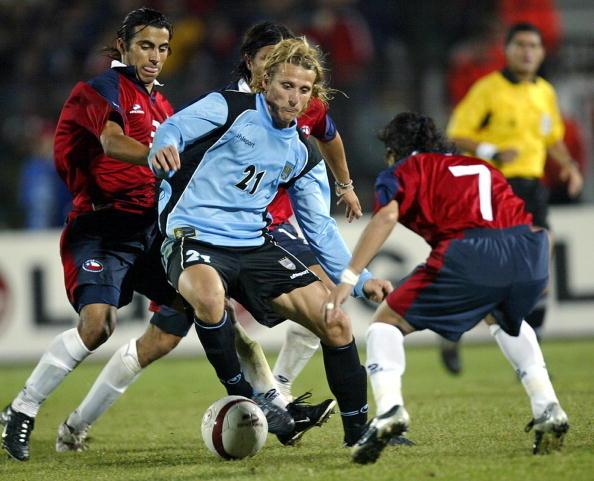 Chile y Uruguay en Clasificatorias a Alemania 2006, 26 de marzo de 2005