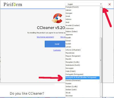 CCleaner idioma