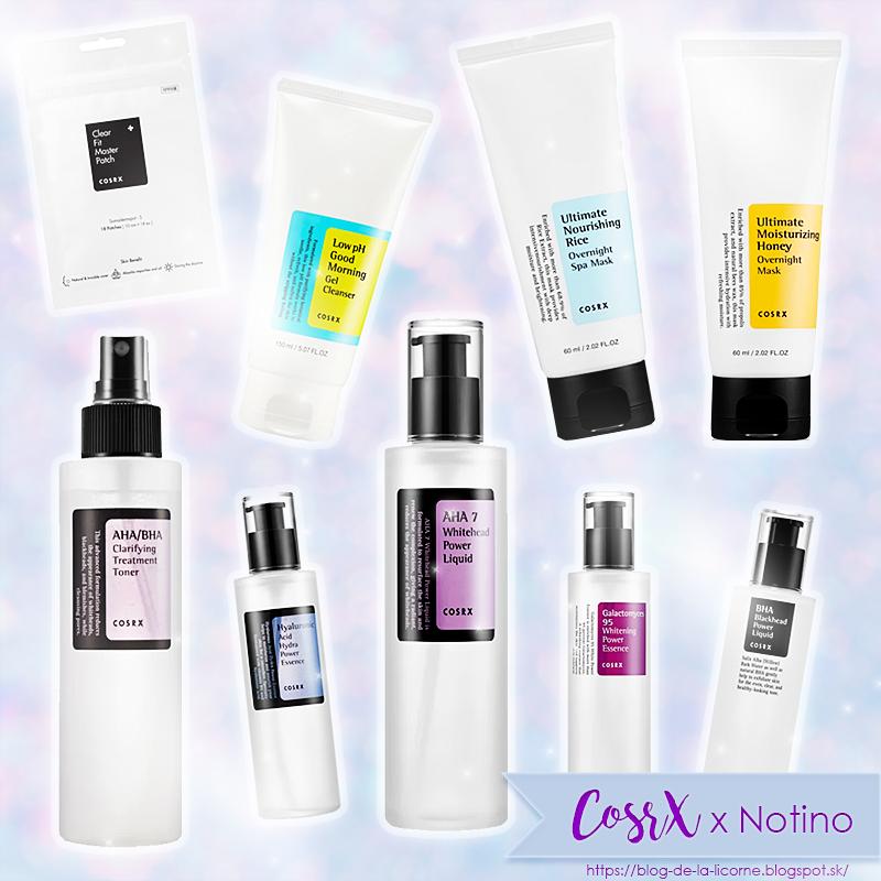 Kórejská kozmetika CosrX