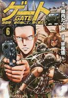 Manga Gate Jieitai Kanochi nite, Kaku Tatakaeri Cover Vol. 06