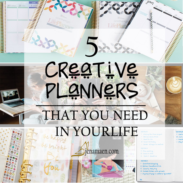 5 Creative Planners You Need in Your Life