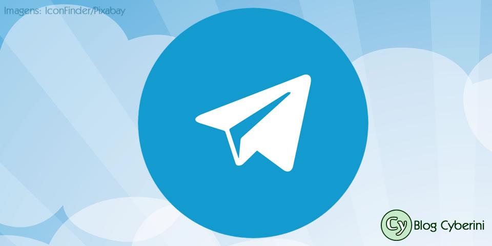Botão de compartilhamento do Telegram