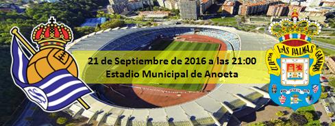 Previa Real Sociedad - UD Las Palmas 21 Septiembre 21:00