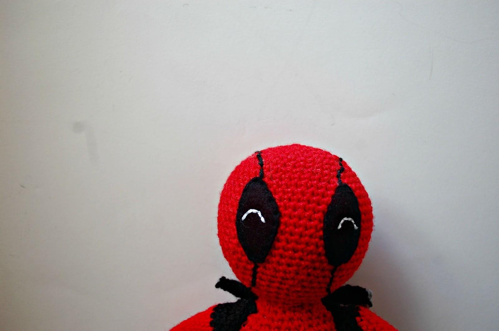 Ravelry: Deadpool Amigurumi pattern by Sheridan Amb | 1064x1600
