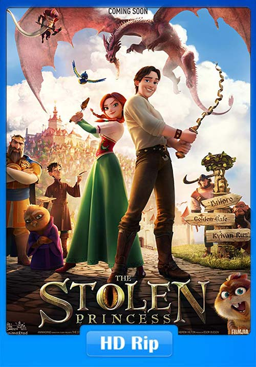 The Stolen Princess 2018 720p HDRip Hindi Tamil Telugu Eng | 480p 300MB | 100MB HEVC