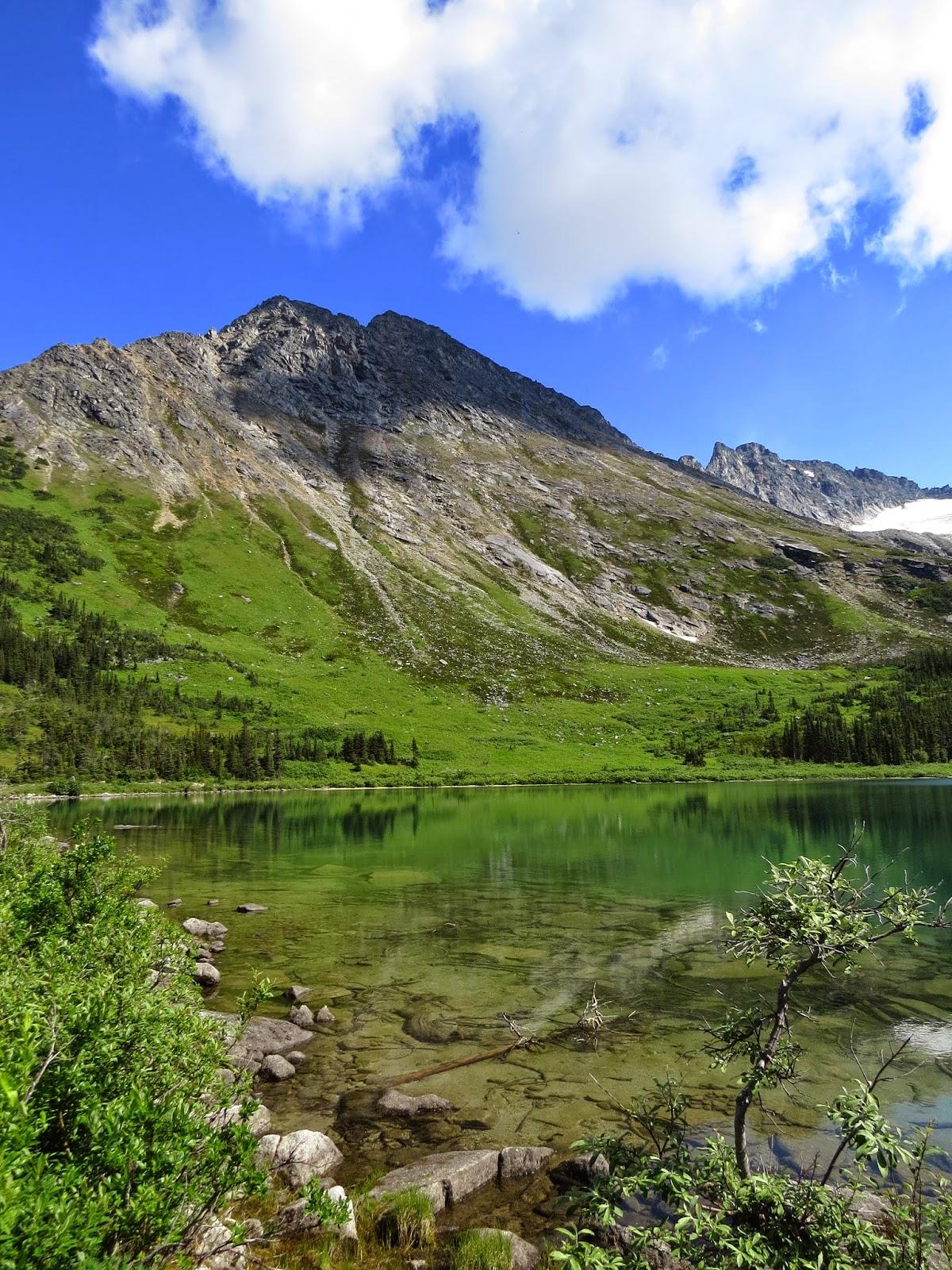 Have Book, Will Travel: Skagway, Alaska--Upper Dewey Lake
