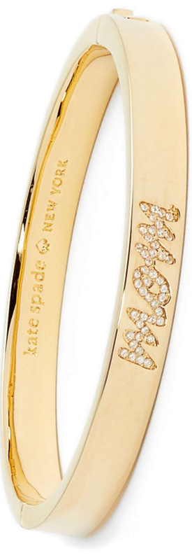 KATE SPADE NEW YORK mom knows best pavé mom bangle
