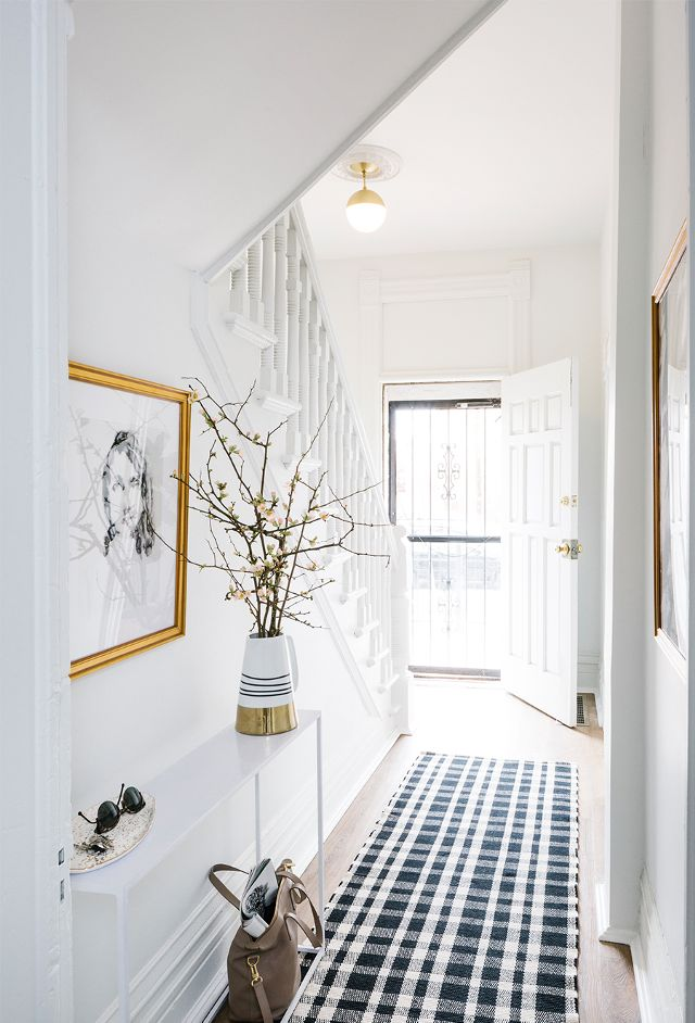 An All Black And White Townhouse South Shore Decorating Blog