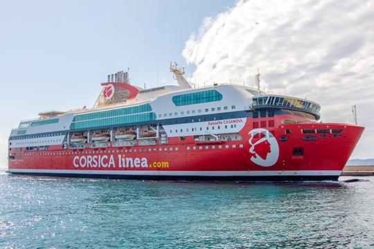Ferrybalear la naviera corsica linea unir marsella y for Garage danielle casanova