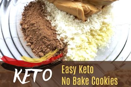 Easy Keto No Bake Cookies