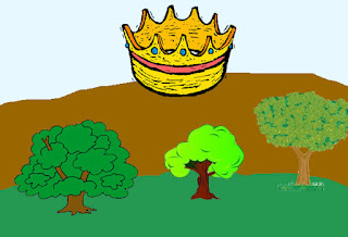 fabula los arboles que querían rey
