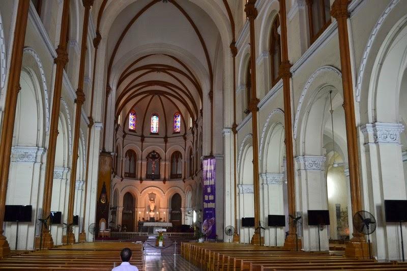 cathédrale notre dame, ho chi minh