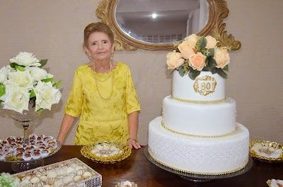 Em seus 80 anos, Alice Rocha recebe festa e homenagens