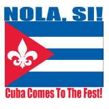 NOLA Si! Worldwide, and stylish, festivalists