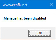 Remove Manage on This PC Context Menu in Windows-www.ceofix.net