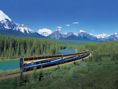 7 Perjalanan Wisata Kereta Api Terindah di Dunia