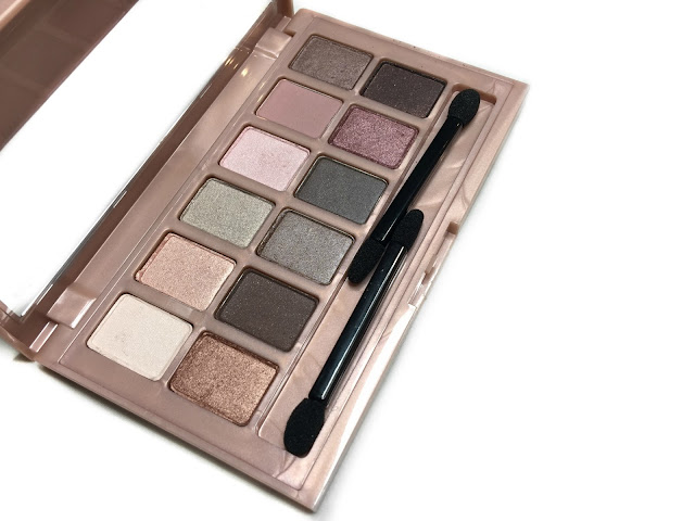 REVIEW: Maybelline The Blushed Nudes Eyeshadow Palette (Plus Dry AND Wet Swatches!)